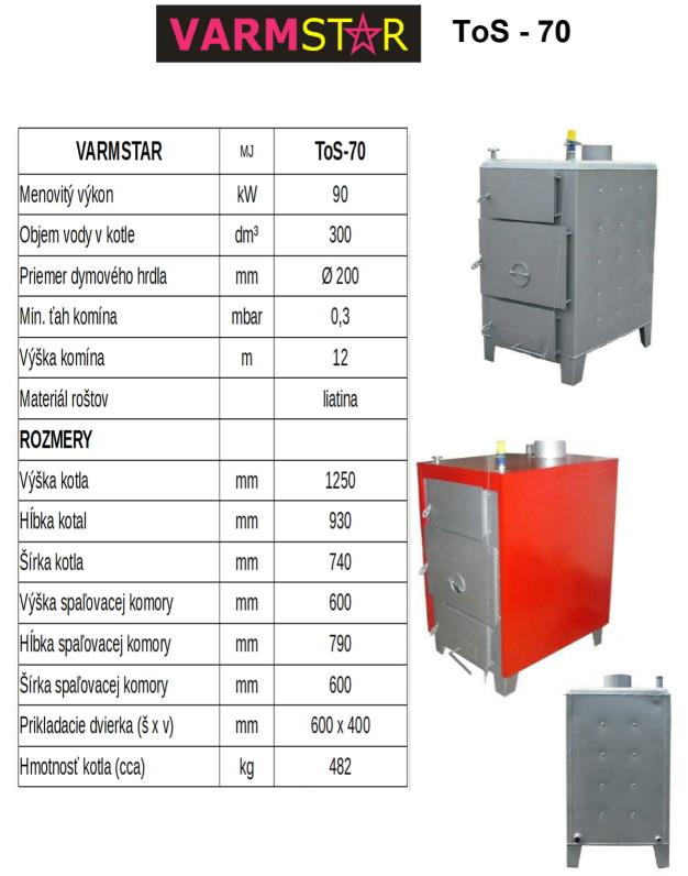 Kotol VARMSTAR ToS-70 90 kW
