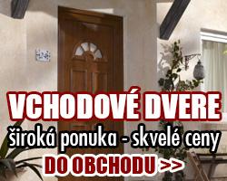 Domové a bytové plastové a kovoé vchodové dvere - online e-shop
